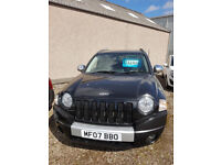 Jeep Compass 2.0 Limited CRD 4 Wheel Drive 2007 £3250