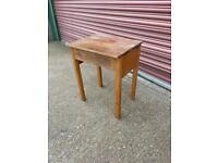2x Vintage school desks