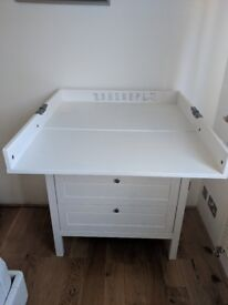 Chest of Drawers and Baby Changing Table