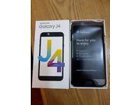 Samsung J4 black 16GB 13MP 5.5 INCH Unlocked DUAL Sim Smartphone