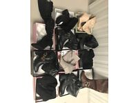 £240 Joblot Ladies Footwear Wholesale Shoes Job Lot Mixed Sizes UK Boots Knee and Over the Knee Boot