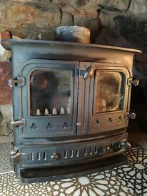 Villager Bayswater Multi-Fuel Stove 6-8kw
