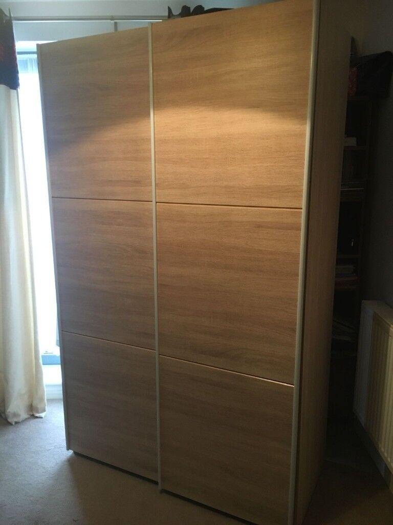 Double Wardrobe With Sliding Doors In Stevenage Hertfordshire