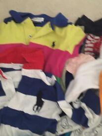 Bundle of baby boys clothes 0-18m (Ralph Lauren, John Lewis, Paul Smith, Disney etc) COLLECTION ONLY