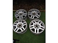 VW Golf 1V Alloys Wheels in 16INCH good conditions
