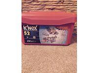 Childs box of K'nex