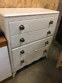 Vintage bedroom drawers
