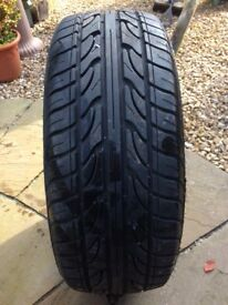 Tyre nearly new