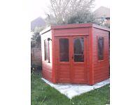 corner summer house .shed