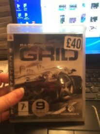 ps3 Racedriver Grid game