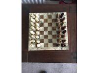 Handmade Italian chess board