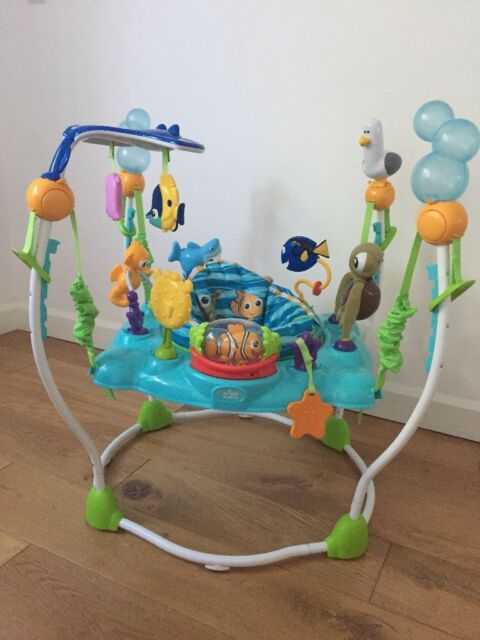5df14e5225e Disney Baby Finding Nemo Sea of Activities Baby Bouncer | in Guildford,  Surrey | Gumtree