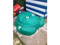 Children's Frog Sandpit