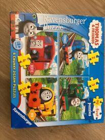 Thomas puzzle (4 puzzles)