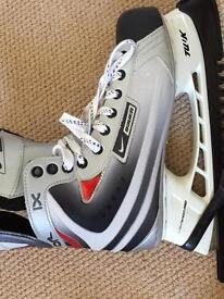 Nike Bauer ice skates size 10