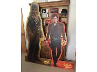 Star Wars - Chewy & Han Solo Models