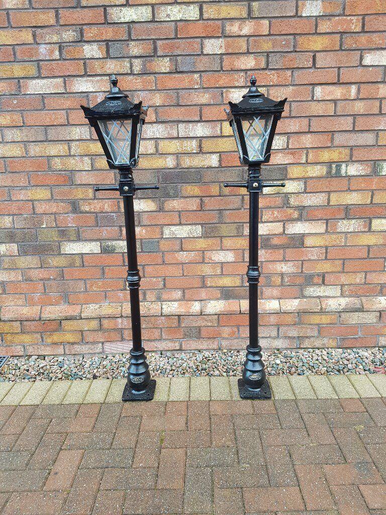 Cast Iron Outside Lamps