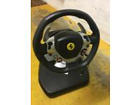 Xbox 360 steering wheel and pedal unit