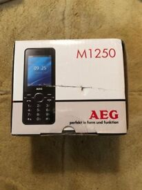 New mobile phone M1250