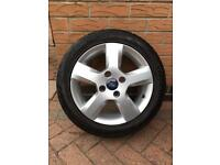 Ford Fiesta Zetec alloy wheels 4x108 15 inch