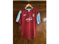 Signed Teddy Sheringham West Ham Shirt 05/06