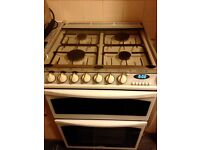 Belling Choice 60cm gas cooker electric oven collection only