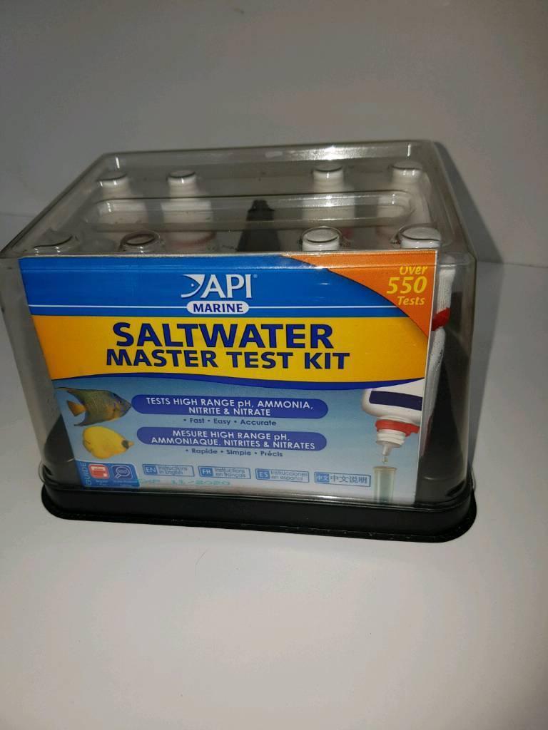 Marine aquarium test kit