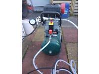 Parkside 24L Air Compressor PKO 270A1