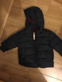 Baby Next winter coat 9-12 months