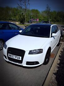 AUDI A3 S-LINE 3.2 V6 QUATTRO DSG / LEATHER SEATS PANORAMIC ROOF