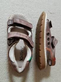 Kickers boys shoes/ sandals size 7