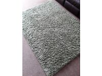 Green rug 172cmx124cm approx