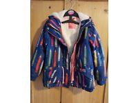 Girls Next Pencil Design Coat Age 4 to 5