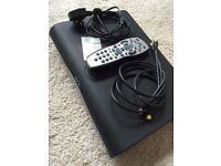 Pace DV3 Sky+ HD Box (TDS850NB) with Remote Control FreeSat Card and Cables