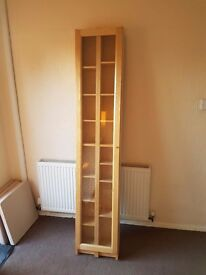 Beech Shelving Storage Unit For Sale