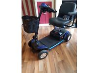mobility scooter 13 mths old very little used