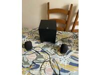 Logitech Subwoofer and speakers for PC, Tele or Stereo