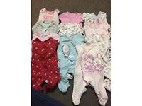 Baby Girl Bundle of clothes from 0-3months baby