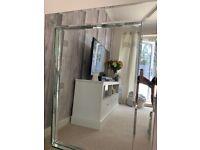 Gorgeous heavy bevelled mirror