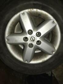 Nissan x-trail spare alloy wheel