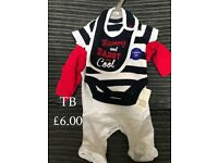 Brand new baby clothes - see photos for prices