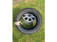 "New Michelin Primacy Car Tyre & 17"" Alloy 235 / 45 R 17"