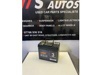HALFORDS CAR BATTERY 45AH 12V
