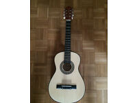 """Children's classical Sierra guitar 34"""" (1/2 size) with carry bag"""
