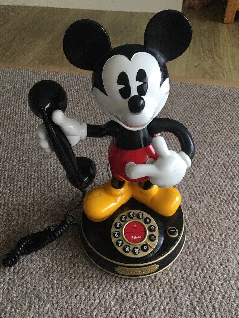 Moving Mickey Mouse Home Phone