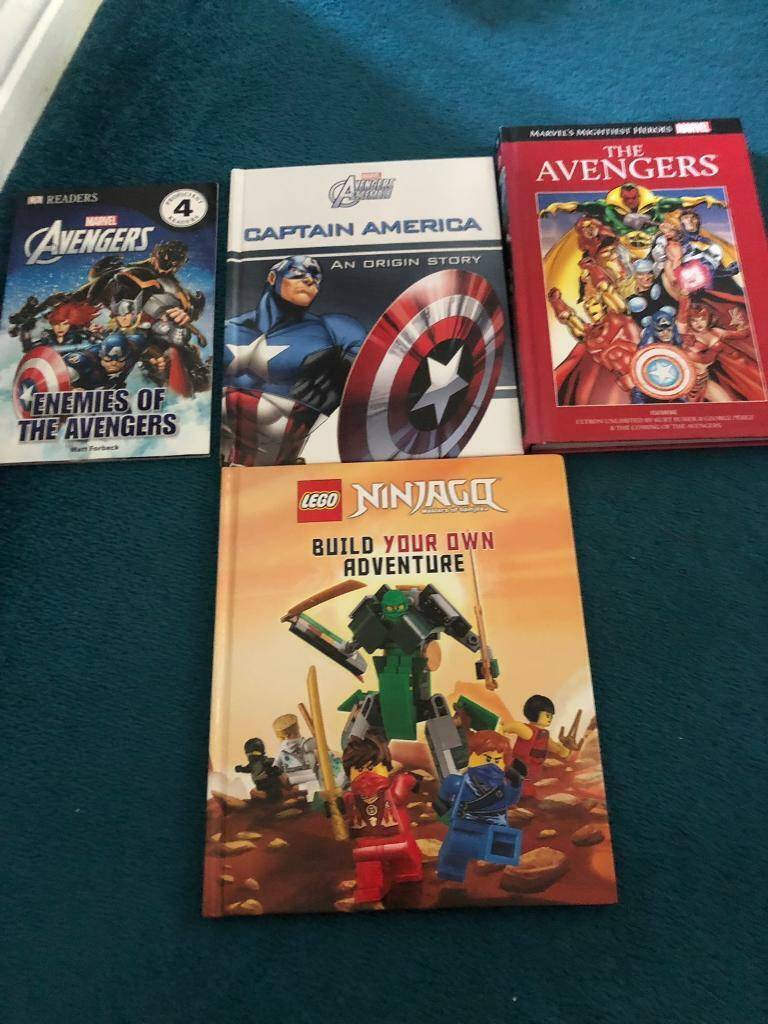 Avengers and lego books | in Norwich, Norfolk | Gumtree