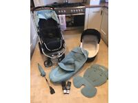 ICandy Apple pushchair and carrycot