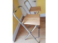 Italian bar stools pair