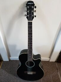 Aria Elecord acoustic/ekdctric guitar Model FET-SPTBK
