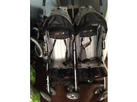 Easy go double pushchair